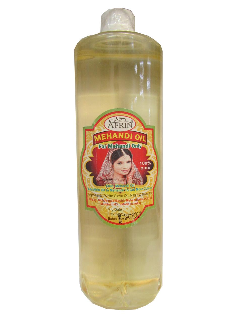 Масло для мехенди  Afrin Mehandi oil 6 мл