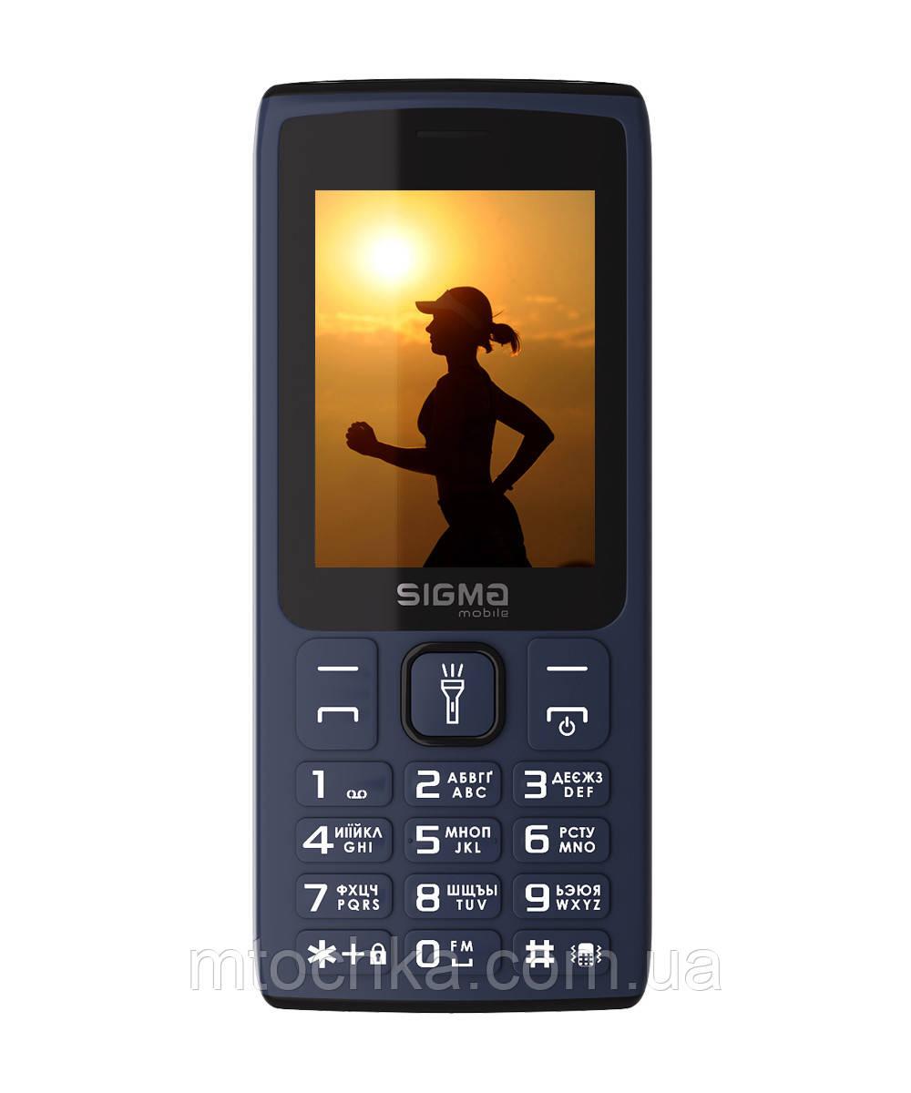 Мобильный телефон Sigma mobile X-style 34 NRG blue (официальная гарантия)