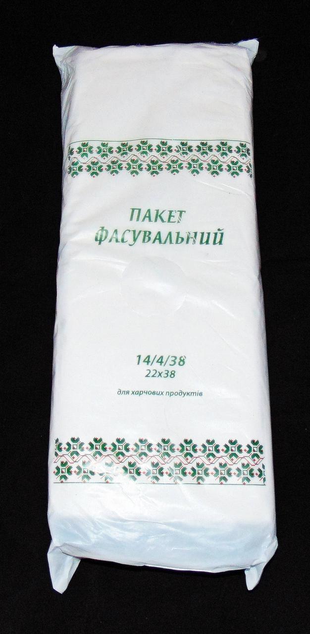 """Пакеты фасовка 14х38 """"Зеленый орнамент"""""""