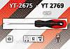 Отвертка шлицевая 4,0 х 100мм., YATO YT-2676