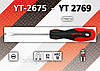Отвертка шлицевая 4,0 х 200мм., YATO YT-2678