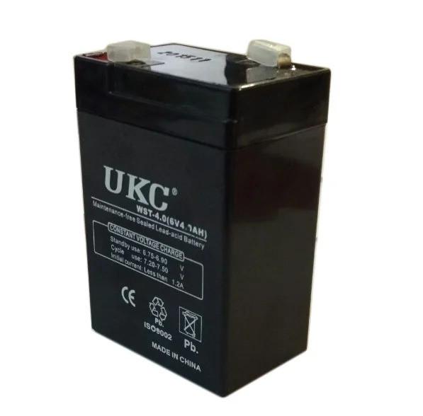 Аккумулятор батарея UKC 6V 4.0Ah WST-4.0