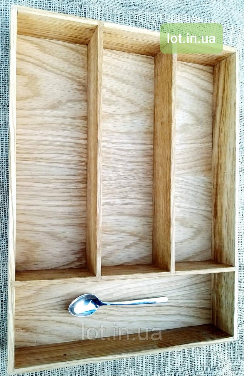 Деревянный лоток для столовых приборов Lot 204 500х400. (индивидуальные размеры)