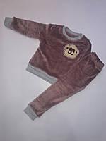 """Детский костюм для мальчика """"Обезьяна"""" 2-6 лет, коричневого цвета"""