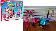 Мебель для куклы Gloria 2509  парикмахерская, в кор. 64.5*51.5*38шт