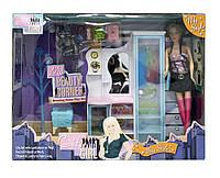 Мебель для куклы Gloria 1103  трюмо, шкаф, аксес, в кор.42*10*32см