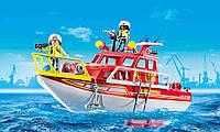 Playmobil 70147 City Action Лодка Пожарных