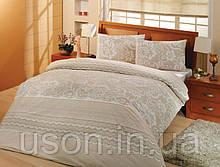 Комплект постельного белья ранфорс  Altinbasak  Natura Krem