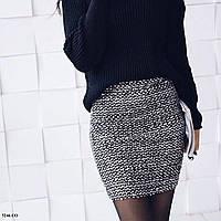 Сияющая юбка-резинка 5246 СО, фото 1