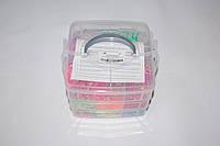 Набор резиночек для плетения Rainbow Loom Bands 3000 шт., фото 1