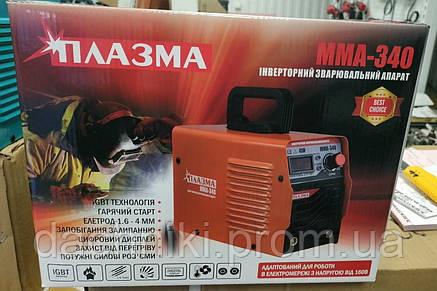 Сварочный аппарат Плазма ММА-340 (340 А, Беларусь), фото 2