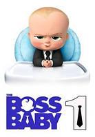 """Харчовий цукровий / вафельний їстівний друк _ лист А4 """"Босс Молокосос / Boss Baby"""""""
