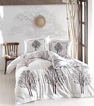 Комплект постельного белья ранфорс  Altinbasak  Tree Kahve