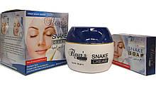 Крем  для лица с жиром змеи  Hemani  Fleurs Snake cream 80 грамм