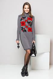 Платья машинная вязка