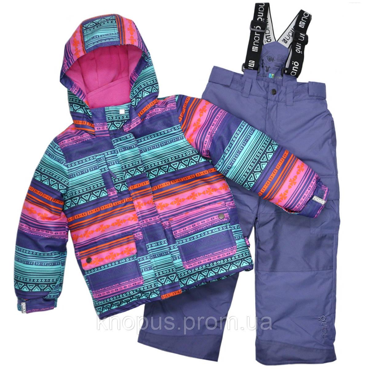 Зимняя куртка NANO, Purple, NANO,  размеры 122-134, на рост 118-138 см