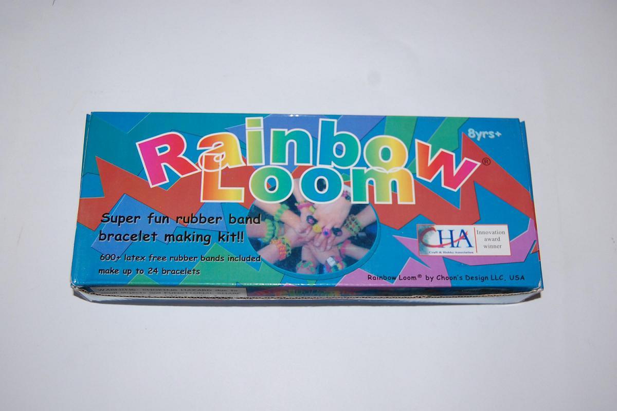 Набор резиночек для плетения Rainbow Loom 600 шт. (станок-эксперт), фото 1