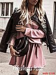 Стильна сукня з довгим рукавом, фото 4