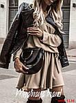 Стильна сукня з довгим рукавом, фото 2