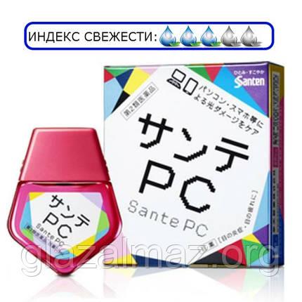 Sante PC глазные капли для работы за монитором компьютера, экраном ноутбука и смартфона, фото 2