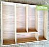 Деревянный лоток для столовых приборов Lot 305 400х400. (индивидуальные размеры), фото 2