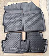 Коврики в салон Chevrolet Spark 2009-2015 (5 шт) каучук ТЭП