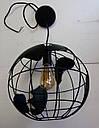 """Подвеснойсветильник """"Глобус"""" в стиле LOFT (цвет Белый), фото 3"""