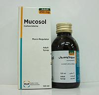 Mucosol-Сироп от кашля 120 мл Египет