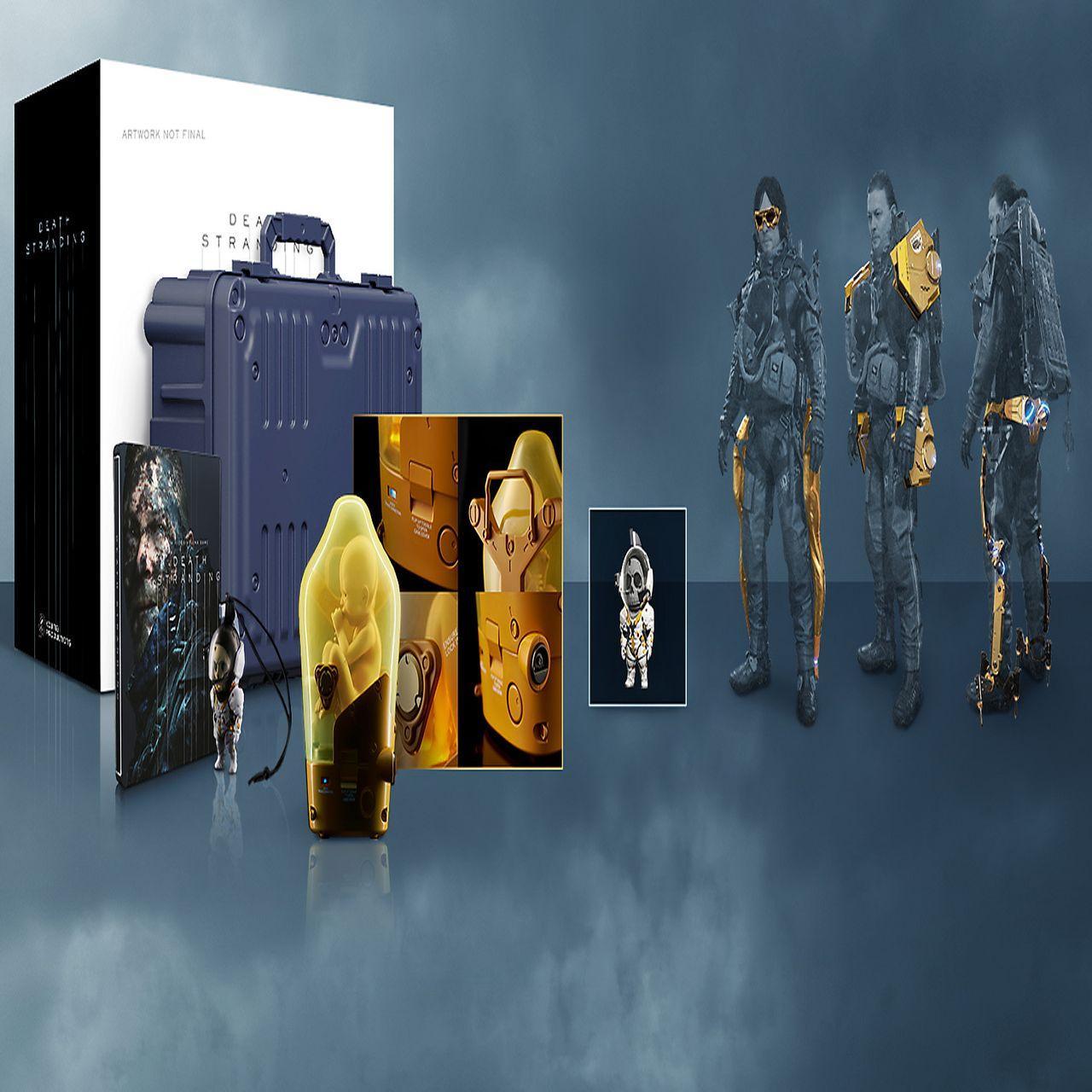 Death Stranding Collector's Edition (русская версия) PS4
