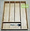 Деревянный лоток для столовых приборов Lot 405 400х400. (индивидуальные размеры), фото 2