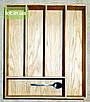 Деревянный лоток для столовых приборов Lot 405 400х400. (индивидуальные размеры), фото 3