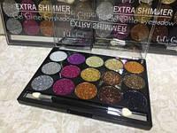 Глиттер для век Extra Shimmer Gel Glitter Eyeshadow DoDo
