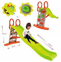 Детская горка слайд Mochtoys + вода  205 см Польша