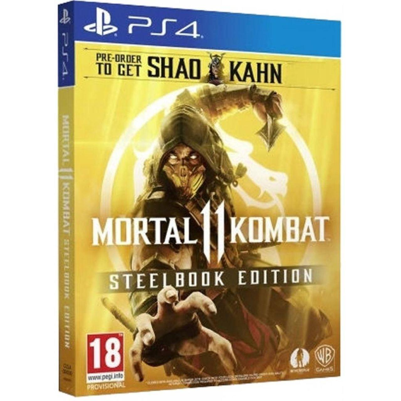 Mortal Kombat 11 Stealbook Edition SUB PS4 (NEW)