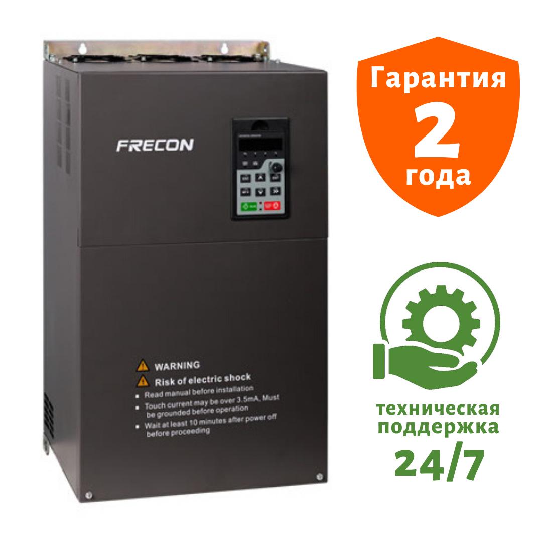 Преобразователь частоты на 110/132 кВт FRECON - FR200-4T-110G/132P - Входное напряжение: 3-ф 380V