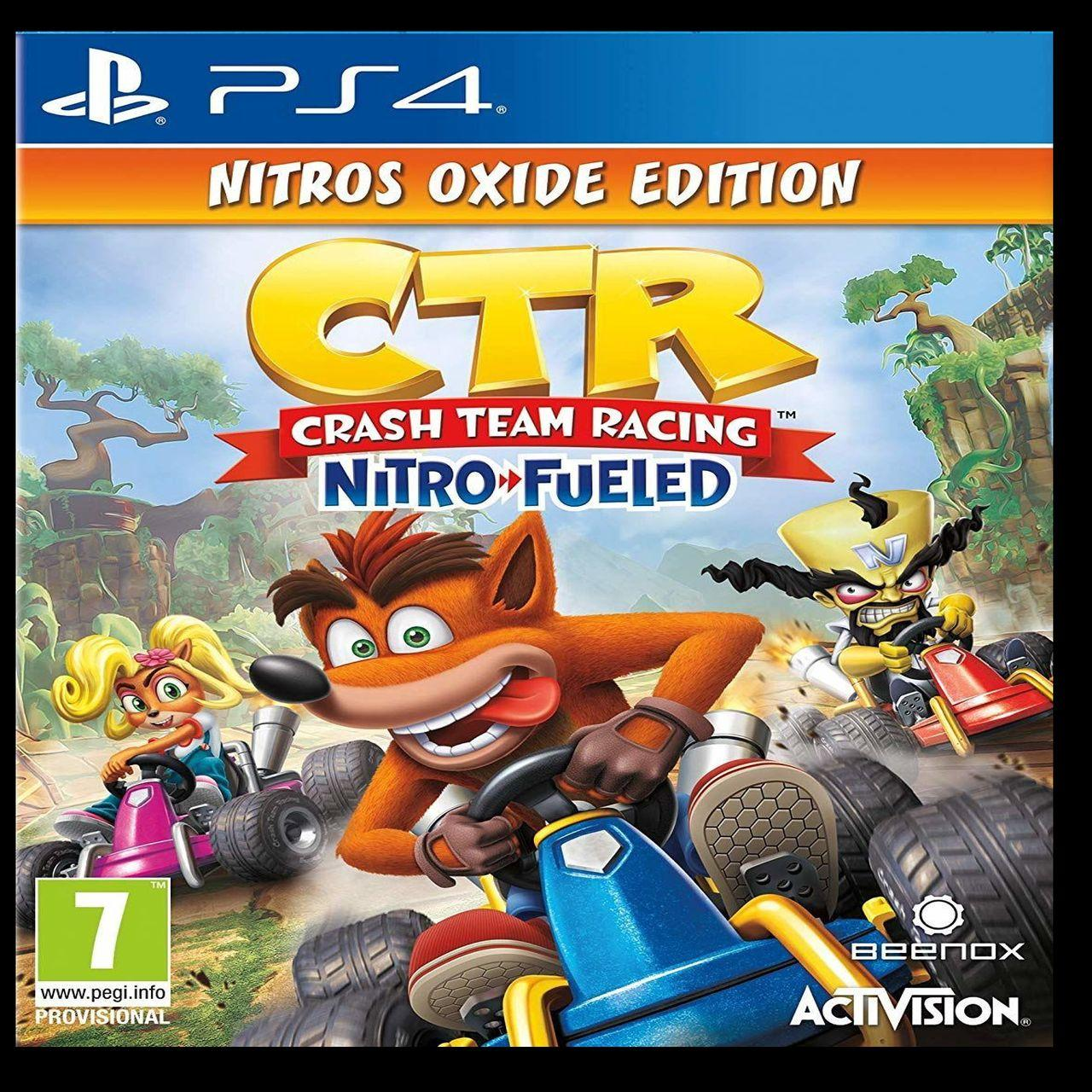 Crash Team Racing Nitro-Fueled Nitros Oxide Edition PS4 ENG (NEW)