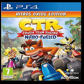 Crash Team Racing Nitro-Fueled Nitros Oxide Edition PS4 ENG (NEW)