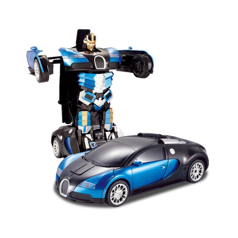 Машинка трансформер Robot Car с пультом - фото 8