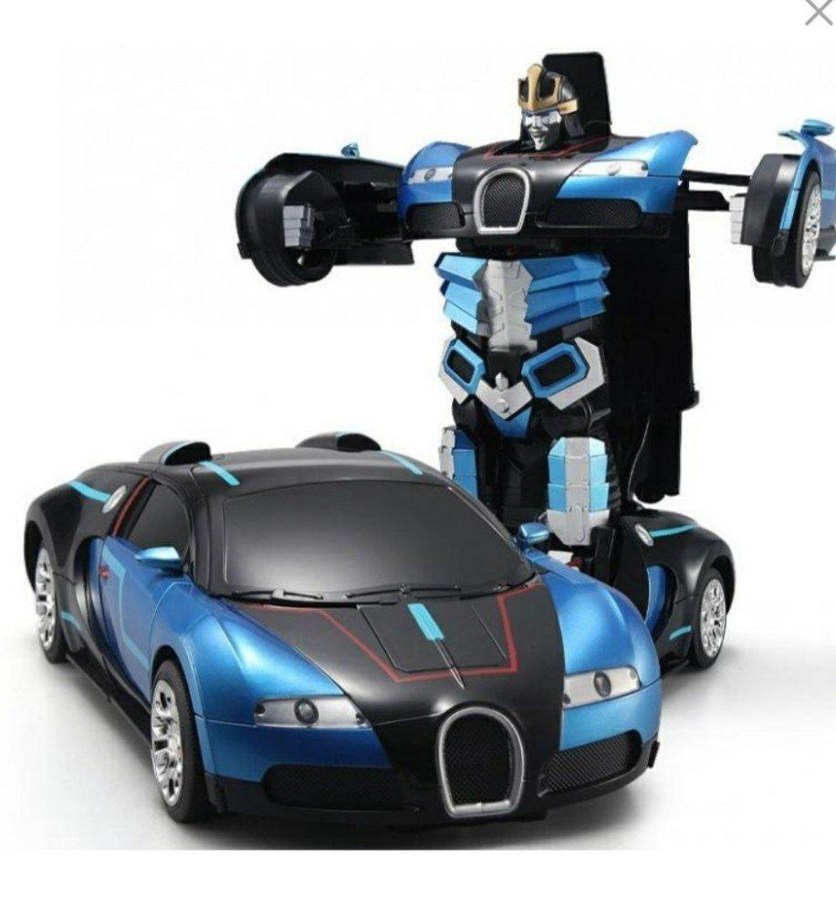 Машинка трансформер Robot Car с пультом - фото 9