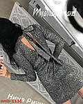Святкова сукня з люрексу, фото 4