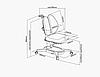 Комплект для школьников Fundesk парта Magico Grey+ортопедическое кресло Primavera II Blue+тумбочка SS15W, фото 5