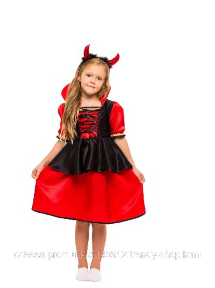 Карнавальный костюм Дъяволица, вампирша