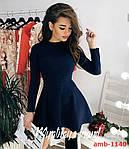 Стильна замшева сукня, фото 3