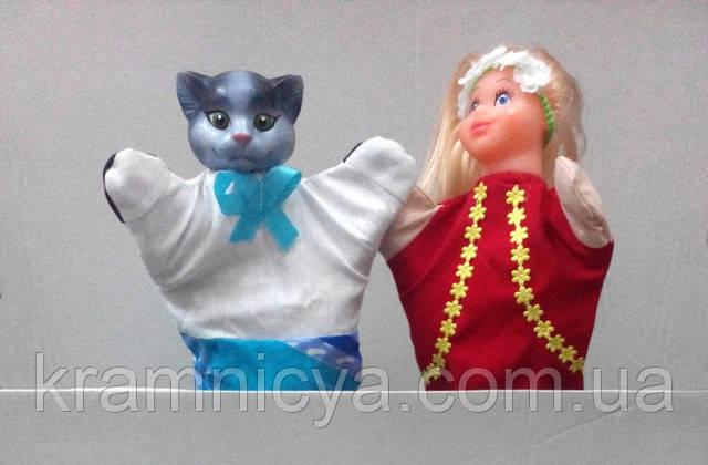 Кукольный театр, куклы-перчатки, популярные сказки, купить в интернет-магазине