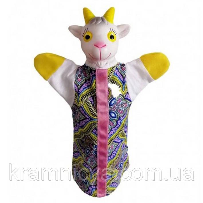 Кукла-рукавичка 'Коза-дереза' (пластизоль, ткань) (В083)