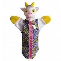 Кукла-рукавичка 'Коза-дереза' (пластизоль, ткань) (В083), фото 1
