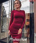 Приталена ангорова сукня, фото 7