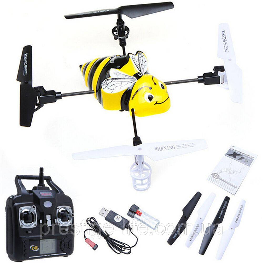 Квадрокоптер Syma X1 Bumblebee с гироскопом USB