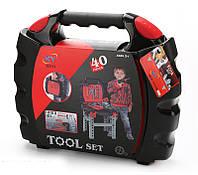 Набор инструментов игрушечный KY1068-151  40 предметов, в чемодане 57*38*35см