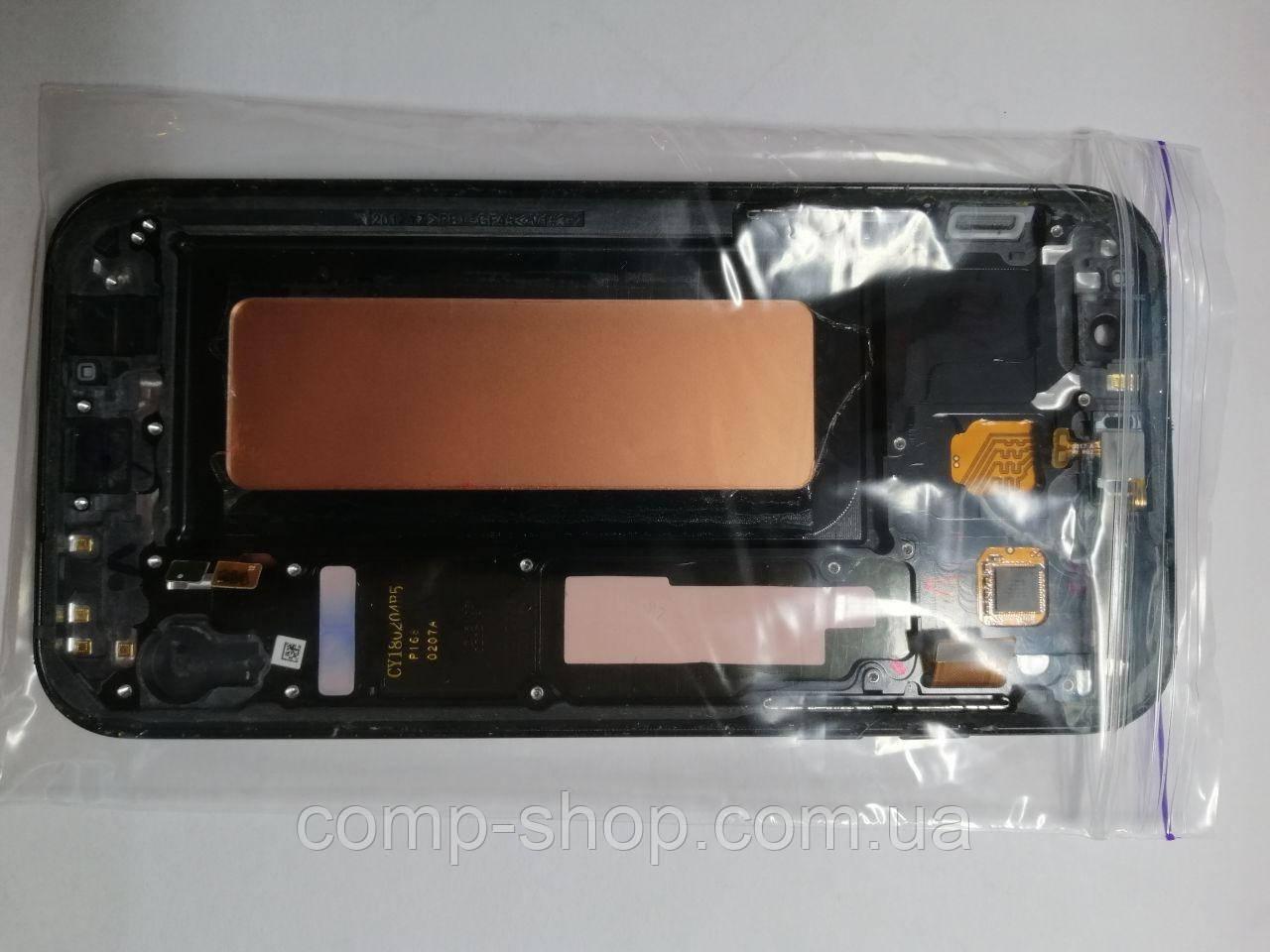 Дисплей битый нет изображения Samsung A7 2017 SM-A720FDS оригинал